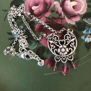 Brighton Floral Necklace